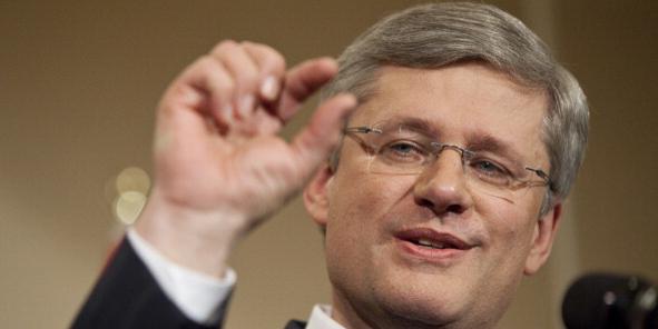 Canadian Prime Minister Stephen Harper s